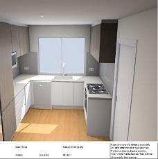 Kitchen Colour 3D by Kitchens Perth